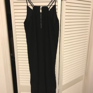 H & M long black dress